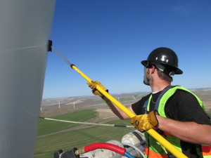 Turbine Blade Cleaning at Fair Wind LLC of Lawton Ok image